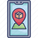 delivery, destination, location, logistic, navigation, shipping, smartphone