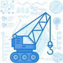 construction, crane, delivery, equipment, logistic, machine, tool
