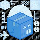 box, damage, delivery, fragile, logistic, package, parcel