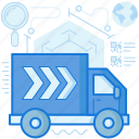 delivery, express, logistic, transport, transportation, truck, vehicle