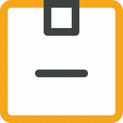 box, cancle, cargo, freight, minus, package icon, parcel icon