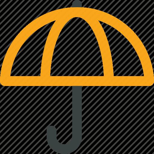 cargo, insurance, protection, secure, umbrella icon icon