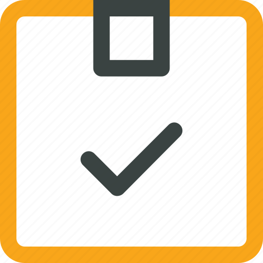 box, check, delivered, mark, package icon icon