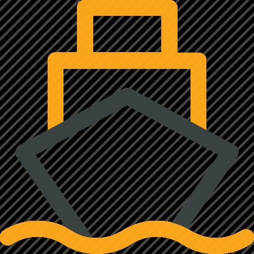 cargo, ship, shipping, transportation icon icon