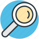 lense, magnifier, magnifying glass, search, zoom