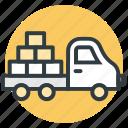 bricks truck, construction blocks, construction equipment, construction vehicle, truck