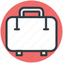 luggage, suitcase, travel bag, traveling, traveling bag icon