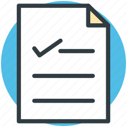 chart, doc, document, list, report icon