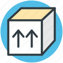 box, package, packed box, parcel, sealed box icon