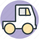 delivery car, delivery van, hatchback, pick up van, van icon