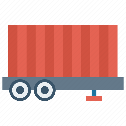 cargo, container, transport, truck, vehicle icon
