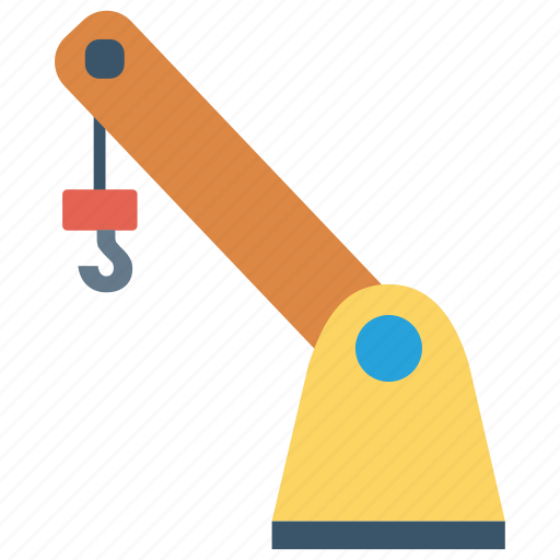 construction, crane, forklift, hook, lifter icon