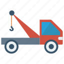 construction, crane, hook, lifter, truck icon