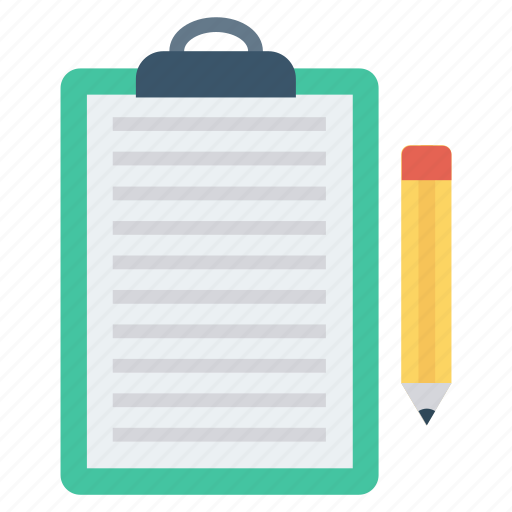 clipboard, create, document, edit, write icon