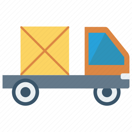 box, delivery, transport, truck, vehicle icon