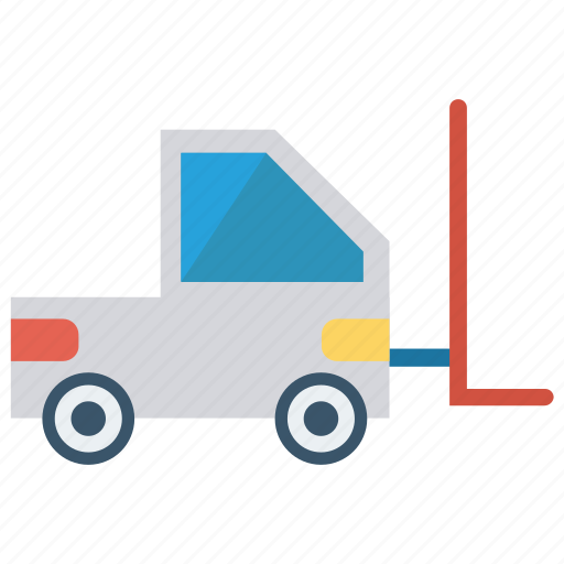 crane, forklift, lifter, transport, vehicle icon