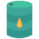 barrel, chemical, fuel, oil, petrol icon