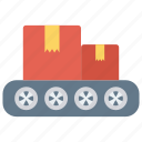boxes, cargo, delivery, package, parcel icon