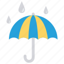 protection, rain, safety, secure, umbrella icon