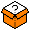 box, distribution, logistic, packaging, product icon