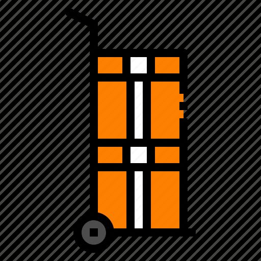 box, cart, logistic, shipping, warehouse icon