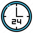 alarm, clock, date, schedule, time icon