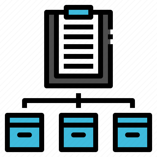box, document, list, packaging, paper icon
