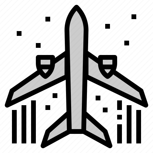 aircraft, logistic, plane, shipping, transportation icon