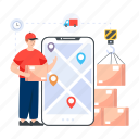 delivery, logistic delivery, logistic distribution, parcel distribution, parcel delivery icon