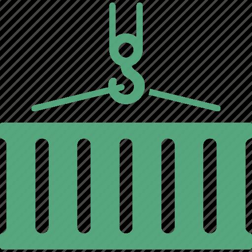 cargo, container, logistics icon