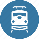 delivery, shipping, train icon