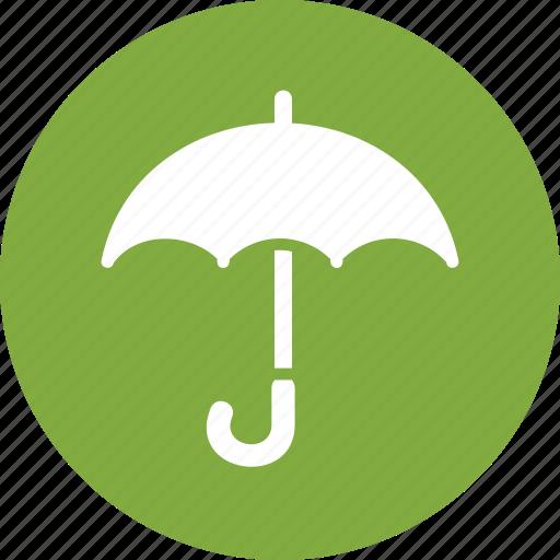insurance, keep dry, umbrella icon