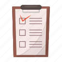 declaration, delivery, document, file, paper, report, waybill icon