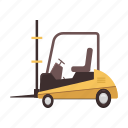 car, car lift, car truck, loader, transport, transportation, vehicle icon