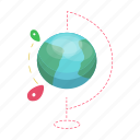 delivery, earth, globe, logistics, planet, world, worldwide icon