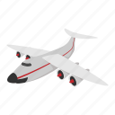 aeroplane, airplane, airport, cartoon, jet, plane, travel icon