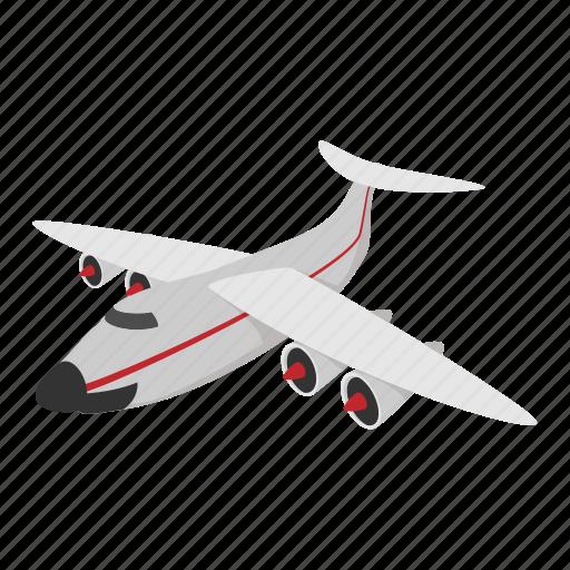 Aeroplane Airplane Airport Cartoon Jet Plane Travel Icon