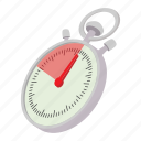 cartoon, clock, second, stop, stopwatch, timer, watch icon