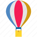 balloon, cargo, delivery, fly, logistics, parcel, shipping icon