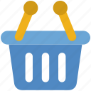 basket, cart, delivery, logistics, shipping, shopping, store icon