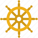 boat, delivery, handle, logistics, ship icon