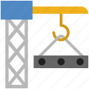 cargo, container, delivery, loading, logistics, package, supply icon