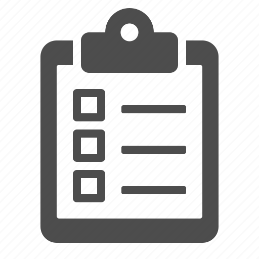 checklist, clipboard, delivery, logistics icon