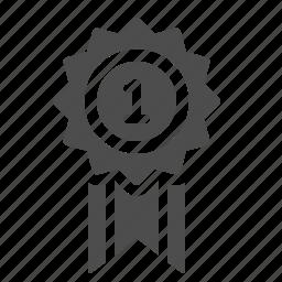 award, badge, medal, prize, ribbon icon