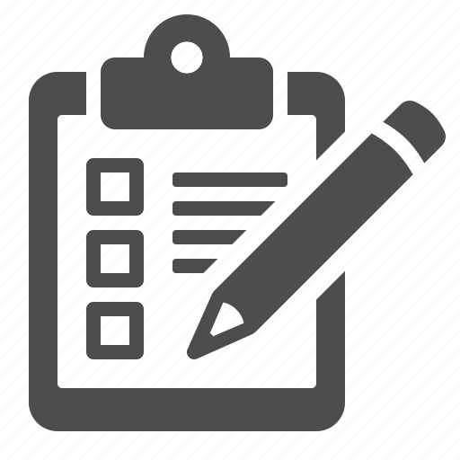 checklist, clipboard, delivery, logistics, pencil icon