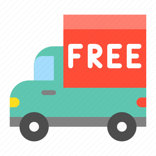 delivery, free delivery, free shipping, logistic, shipping, transport, transportation icon