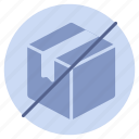 delivery, logistics, order, out, shipping, stock, unpack icon