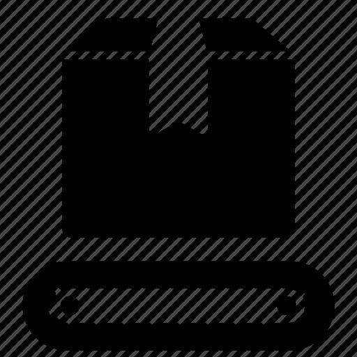 Belt, conveyor, logistics, manufacturing, material, storage, warehouse icon - Download on Iconfinder