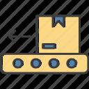 belt, conveyor, logistics, package