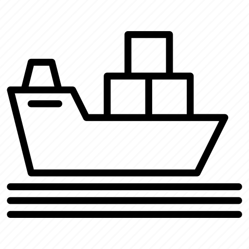 Cargo. load, container, freight, ship container icon - Download on Iconfinder